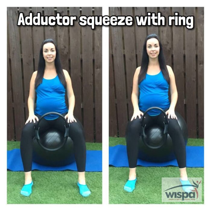 Abductor Squeeze with Ring