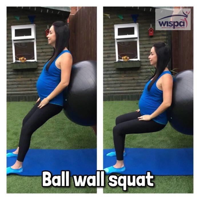 Ball Wall Squat