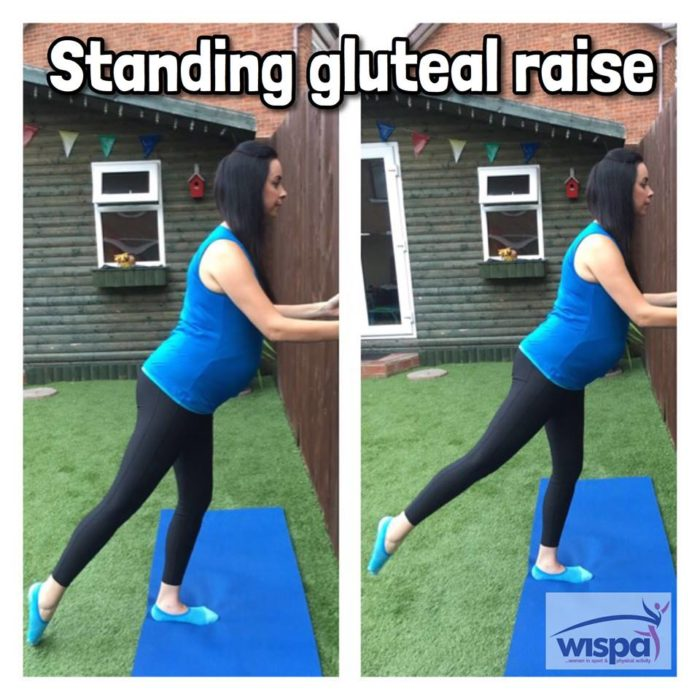 Standing Gluteal Raise